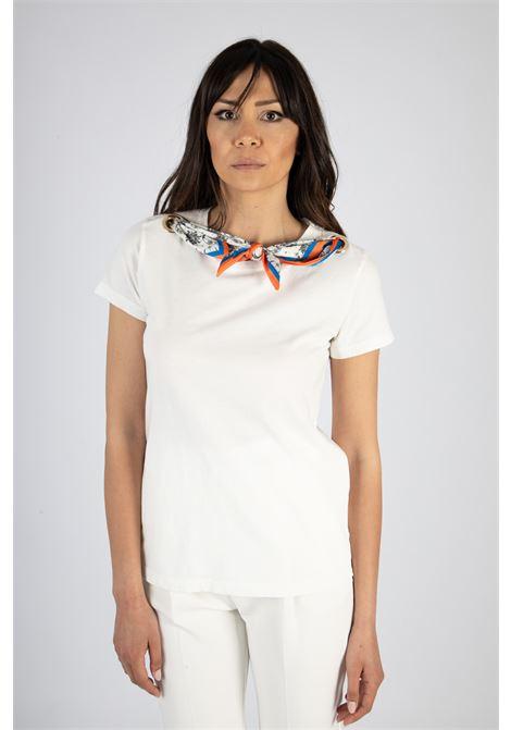 VICOLO | T-shirt  | RH0474BIANCO/FANTASIA