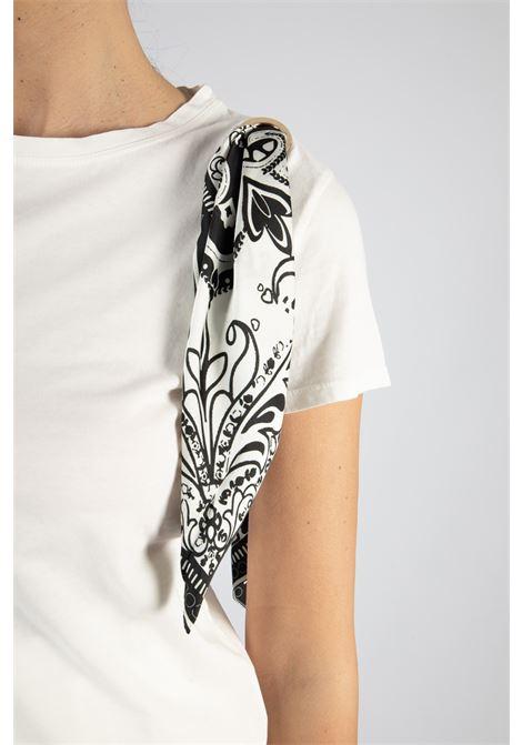 VICOLO | T-shirt  | RH0488BIANCO/NERO