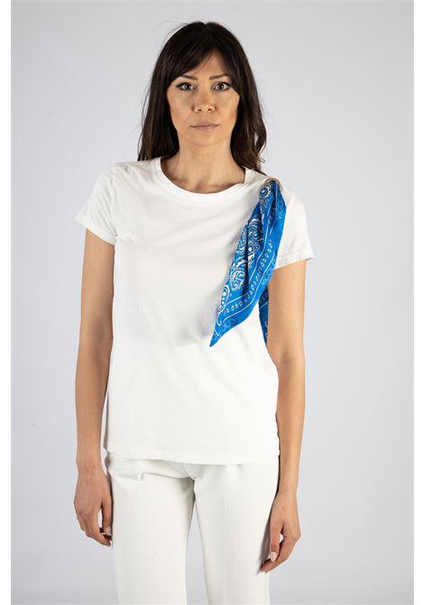VICOLO | T-shirt  | RH0499BIANCO/BLU