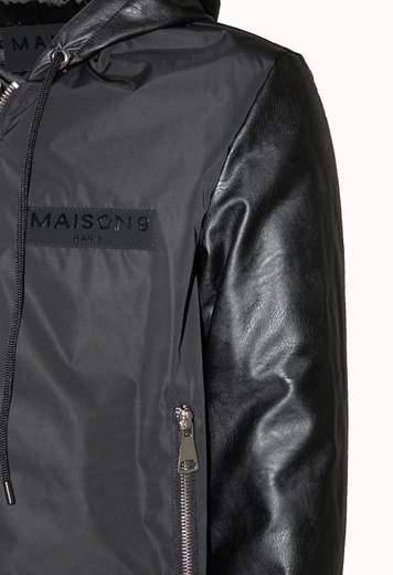 cappuccio+manica eco MAISON 9 PARIS | Giubbino | M9G8211