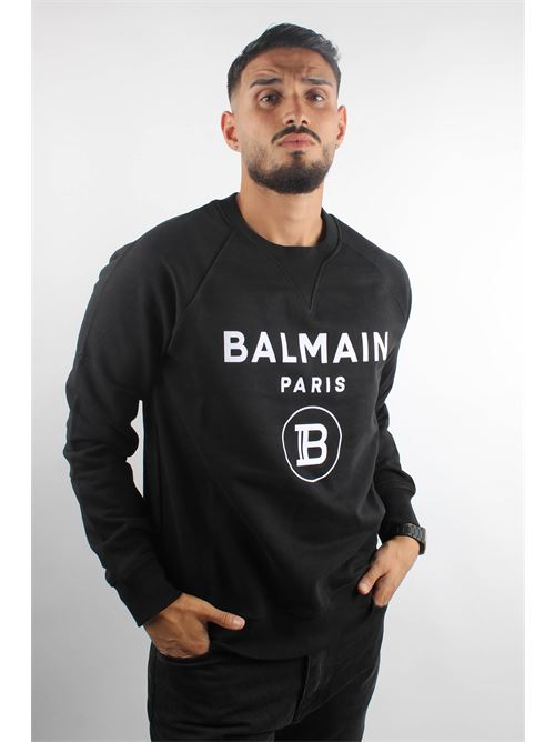 BALMAIN | Felpa | UH13279 I372EAB