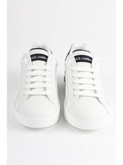 sneakers bassa v.nappa+dauph. lam DOLCE&GABBANA | Scarpe | CS1760 ah526697