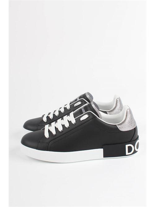 sneakers bassa v.nappa+dauph. lam DOLCE&GABBANA | Scarpe | CS1760 ah526979