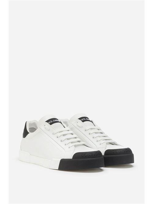 sneakers bassa v.nappa+v.nappa+go DOLCE&GABBANA | Scarpe | CS1802 AW1131