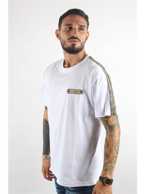 patch +nastro chain spalle MAISON 9 PARIS | T-shirt | M9M21962
