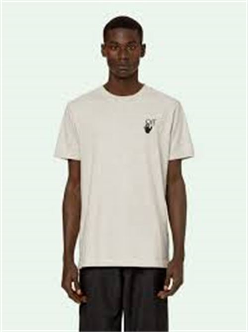 OFF-WHITE | T-shirt | AGREEMENT S/S SLIM TEE1