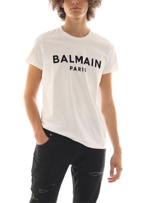 BALMAIN | T-shirt | UH11601I398GAB