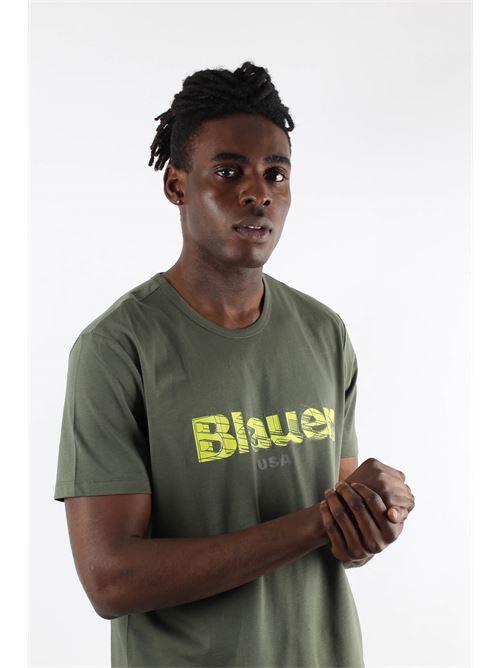 BLAUER | T-shirt | 21SBLUH02397702