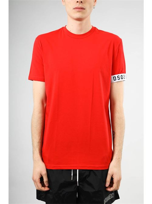 round neck shirt DSQUARED2 | Intimo | D9M3S3450613