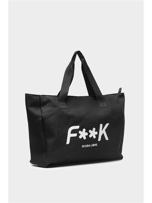 canvas beachbag F**K | Fuori acqua | F21-A0010NR