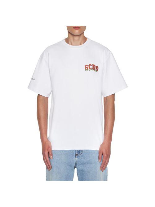 regular tee GCDS | T-shirt | SS21M02006701