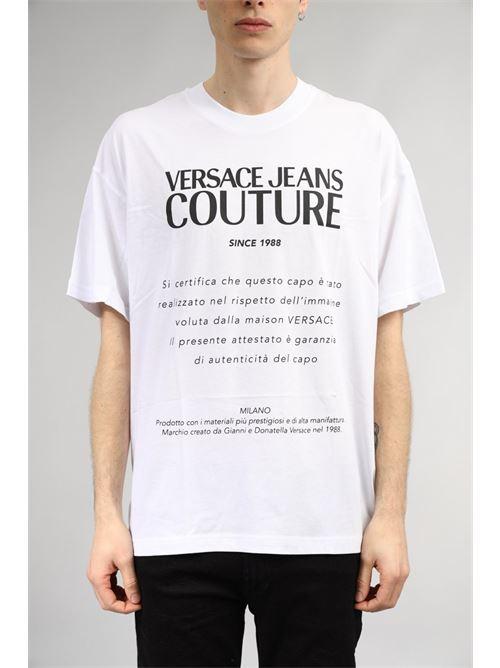 VERSACE JEANS | T-shirt | B3 GWA7TM 30319003