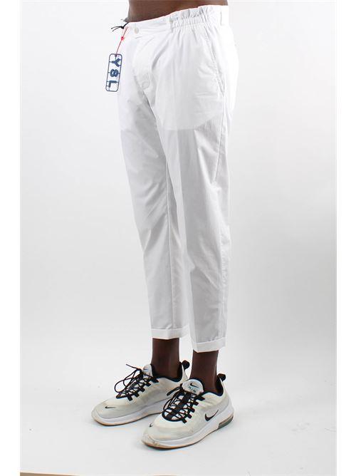 elastico bustino a contrasto YES LONDON | Pantalone | XP28502