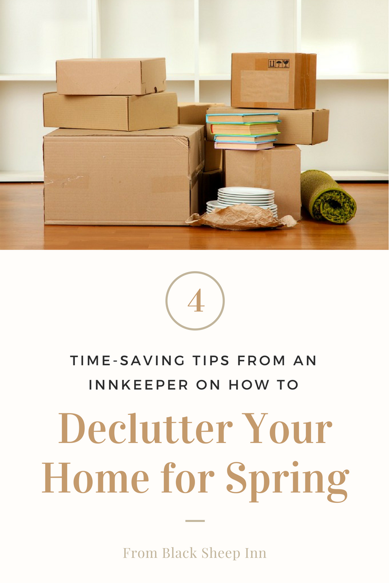 Spring Cleaning Tips from Black Sheep Inn & Spa in Hammondsport, NY