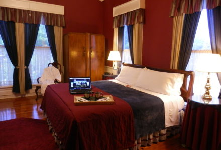 Burgundy Suite at Americus Garden Inn