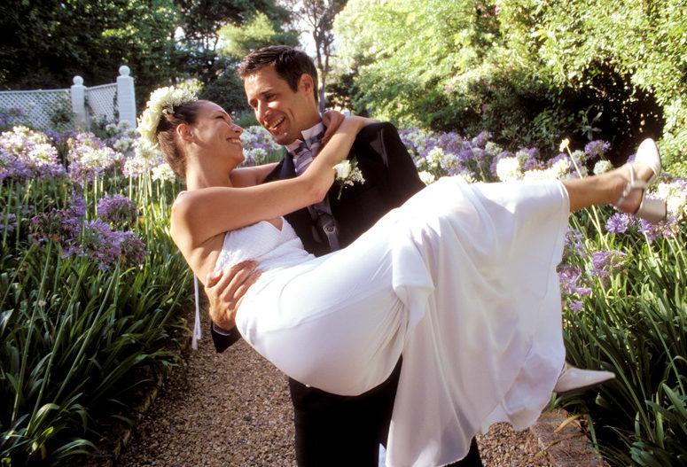 Groom carrying bride, Wedding Gift Certificates