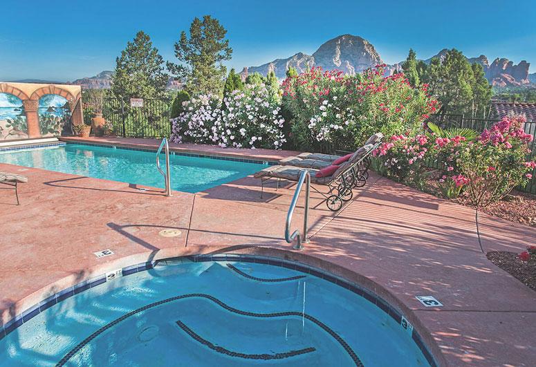 Sedona Arizona: A Sunset Chateau.