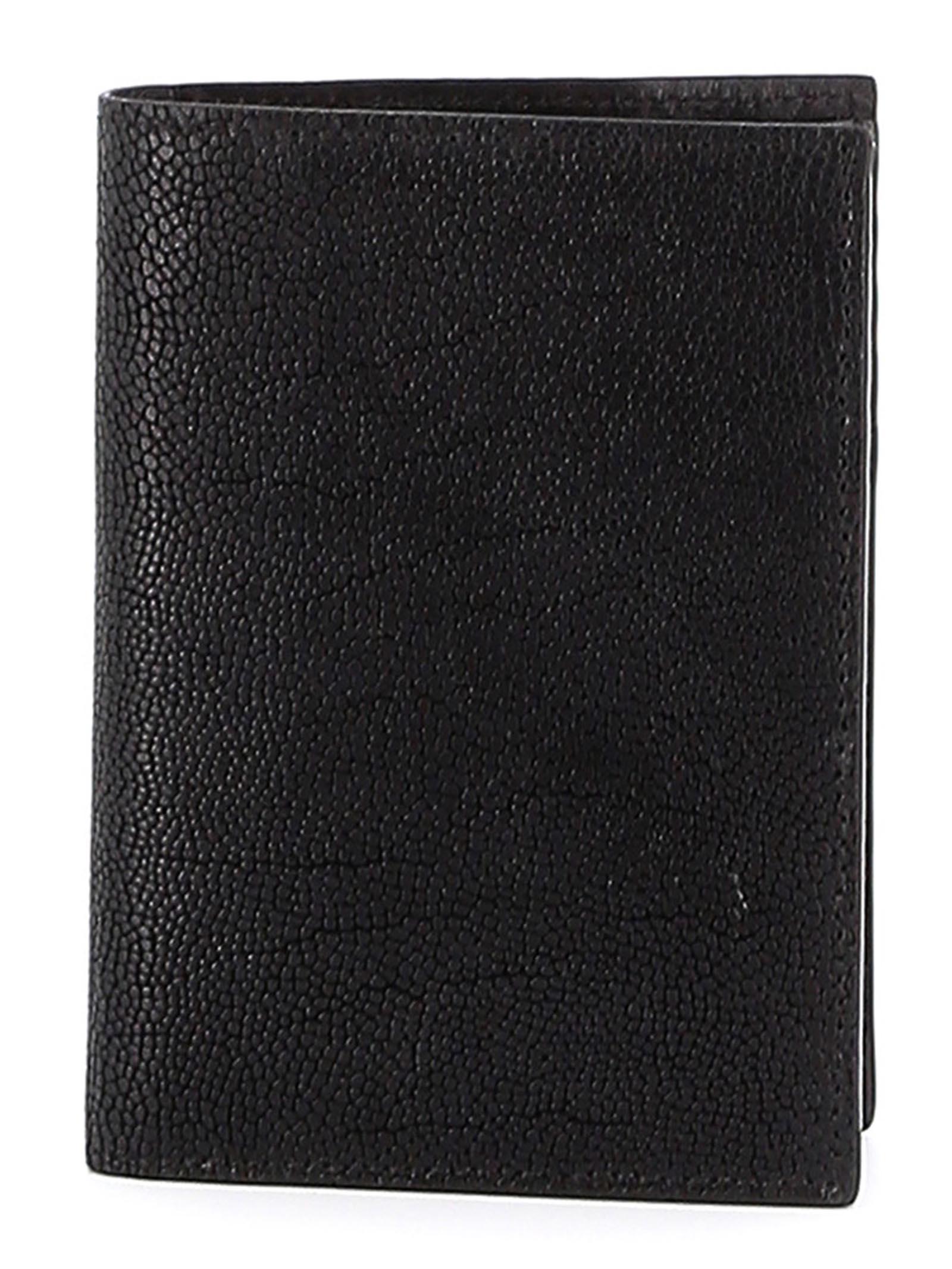 Portafoglio  verticale  in pelle ORCIANI | Portafogli | SU0045NERO