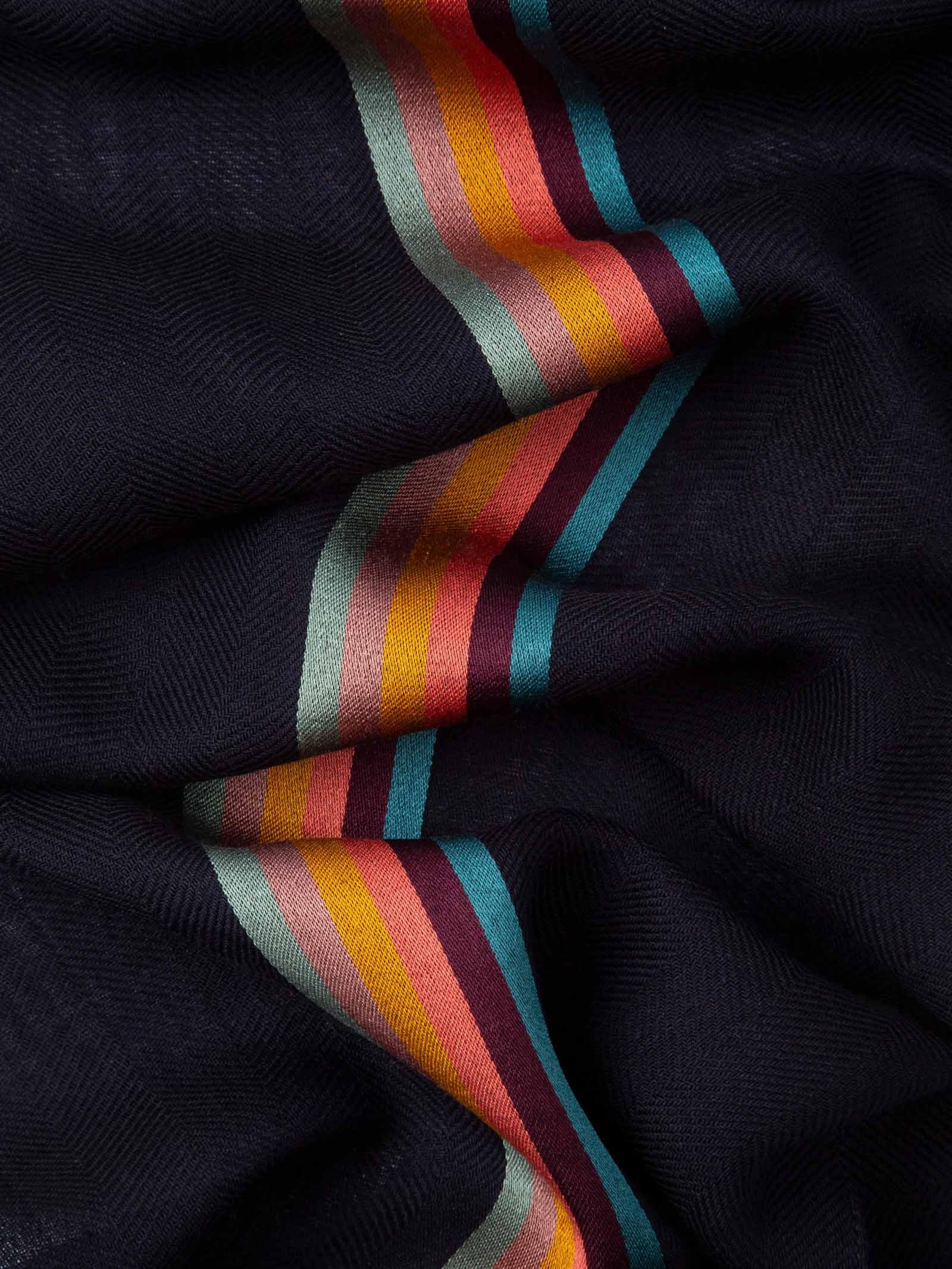 Sciarpa da uomo in misto lana a spina di pesce PAUL SMITH | Sciarpa | M1A-454D-AS2247