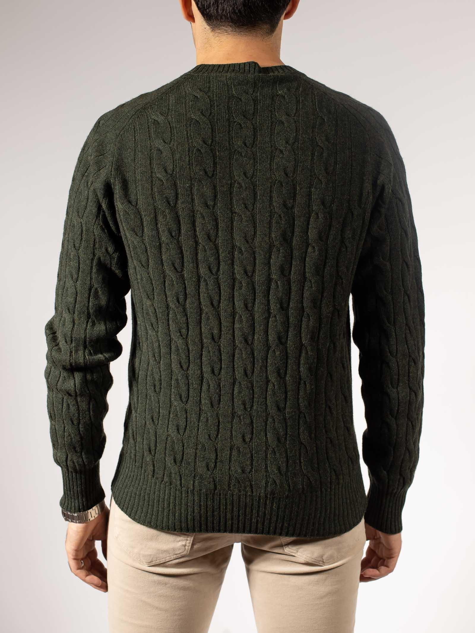 treccia lana Cruciani | Maglia | CU28.08628BA/0017