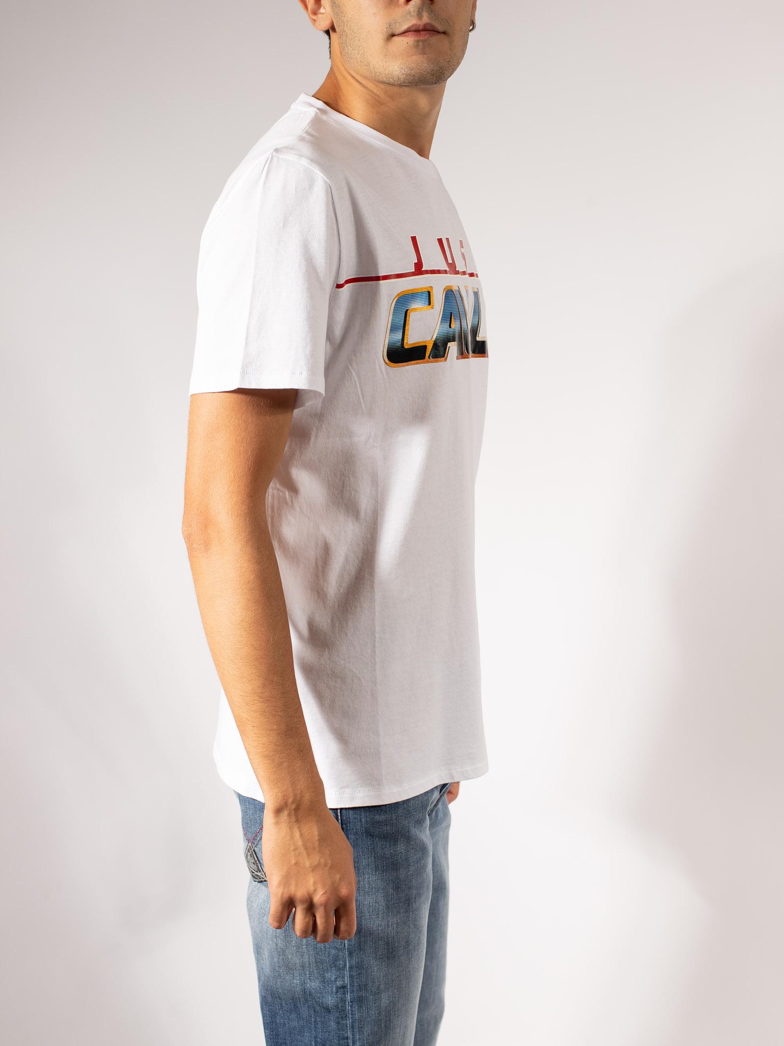 T-SHIRT STAMPA LOGO JUST CAVALLI | T-shirt | S03GC0636-N20663100