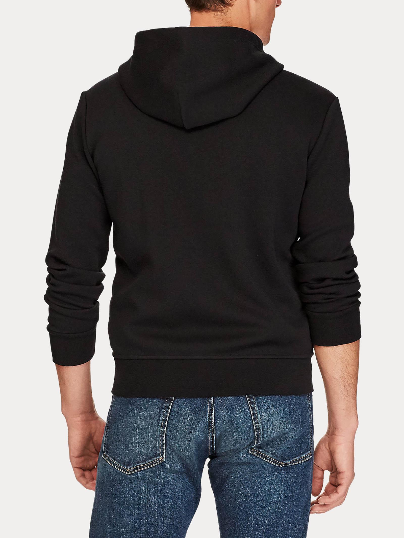 Felpa con cappuccio e zip a maglia doppia RALPH LAUREN   Felpa   710-652313001