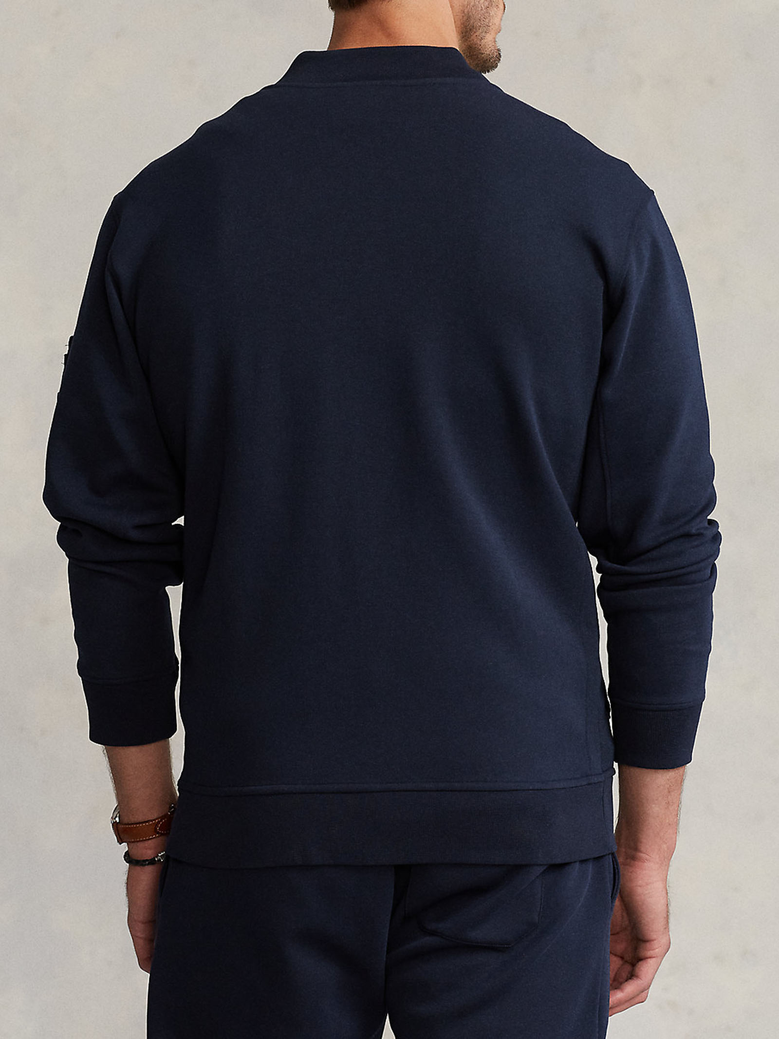 Bomber a maglia doppia RALPH LAUREN | Felpa | 710-849528002