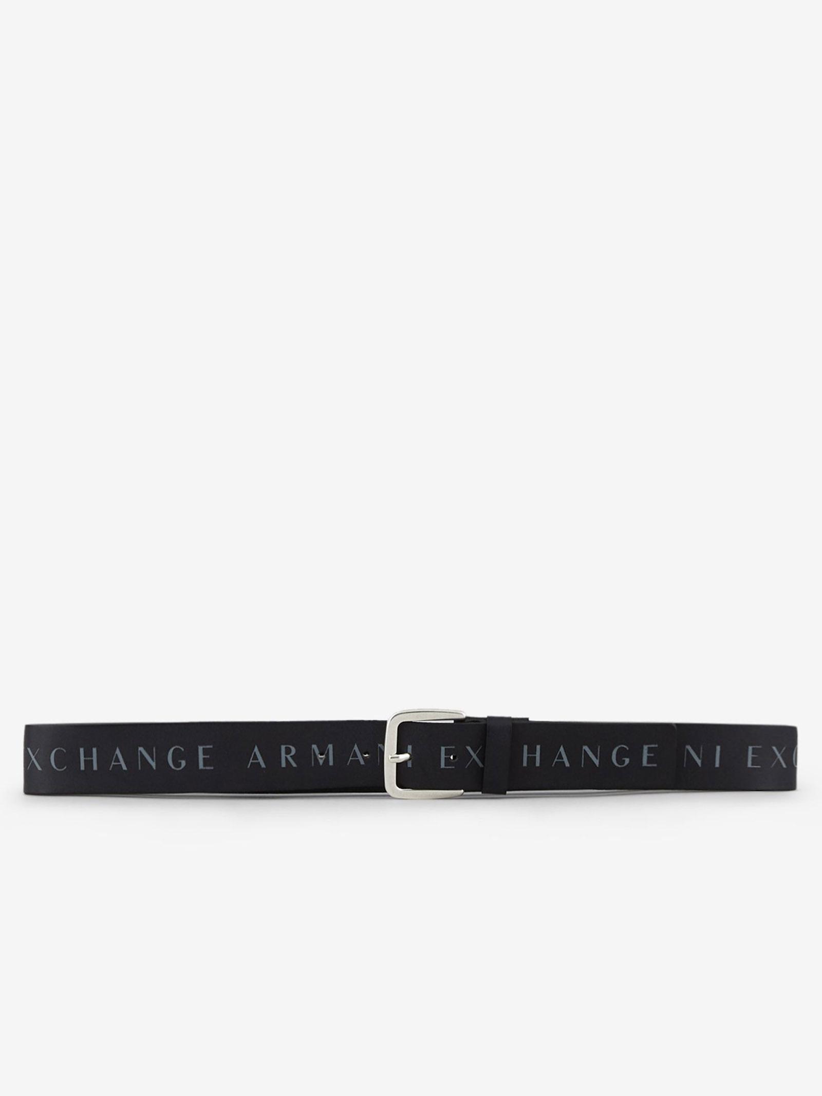 Cintura in pelle con scritta ARMANI EXCHANGE | Cintura | 951185/CC52900020