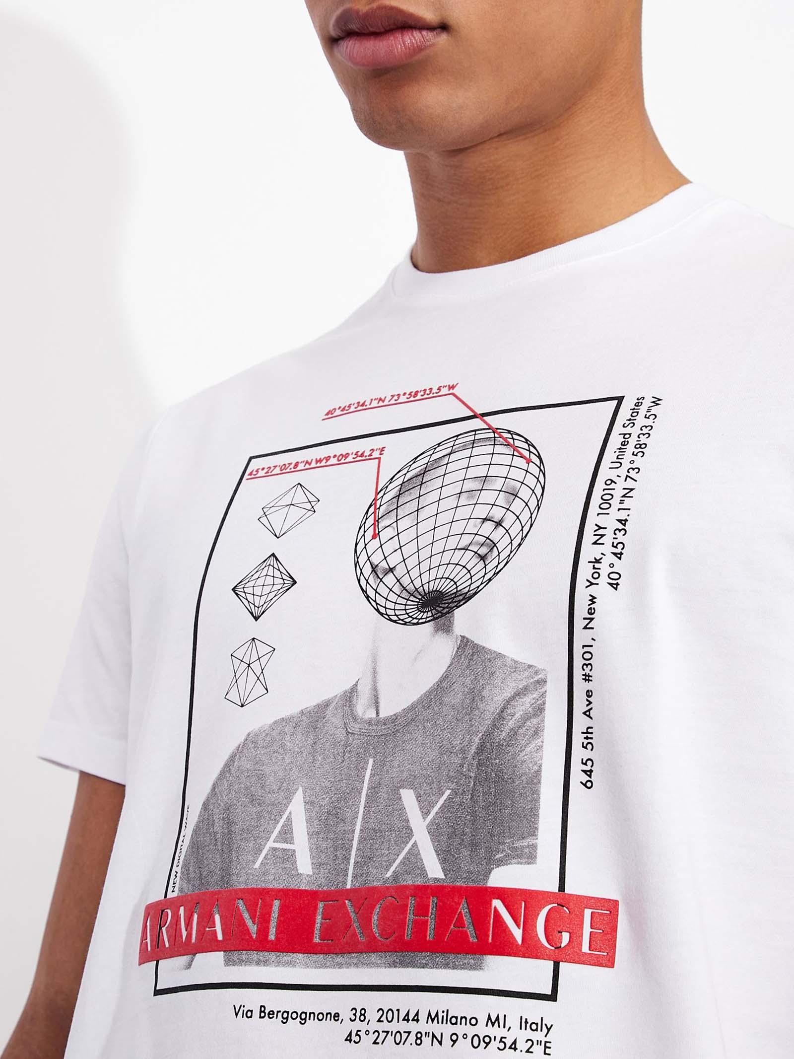 T-shirt regular fit ARMANI EXCHANGE   T-shirt   3KZTAD/ZJ4JZ1100