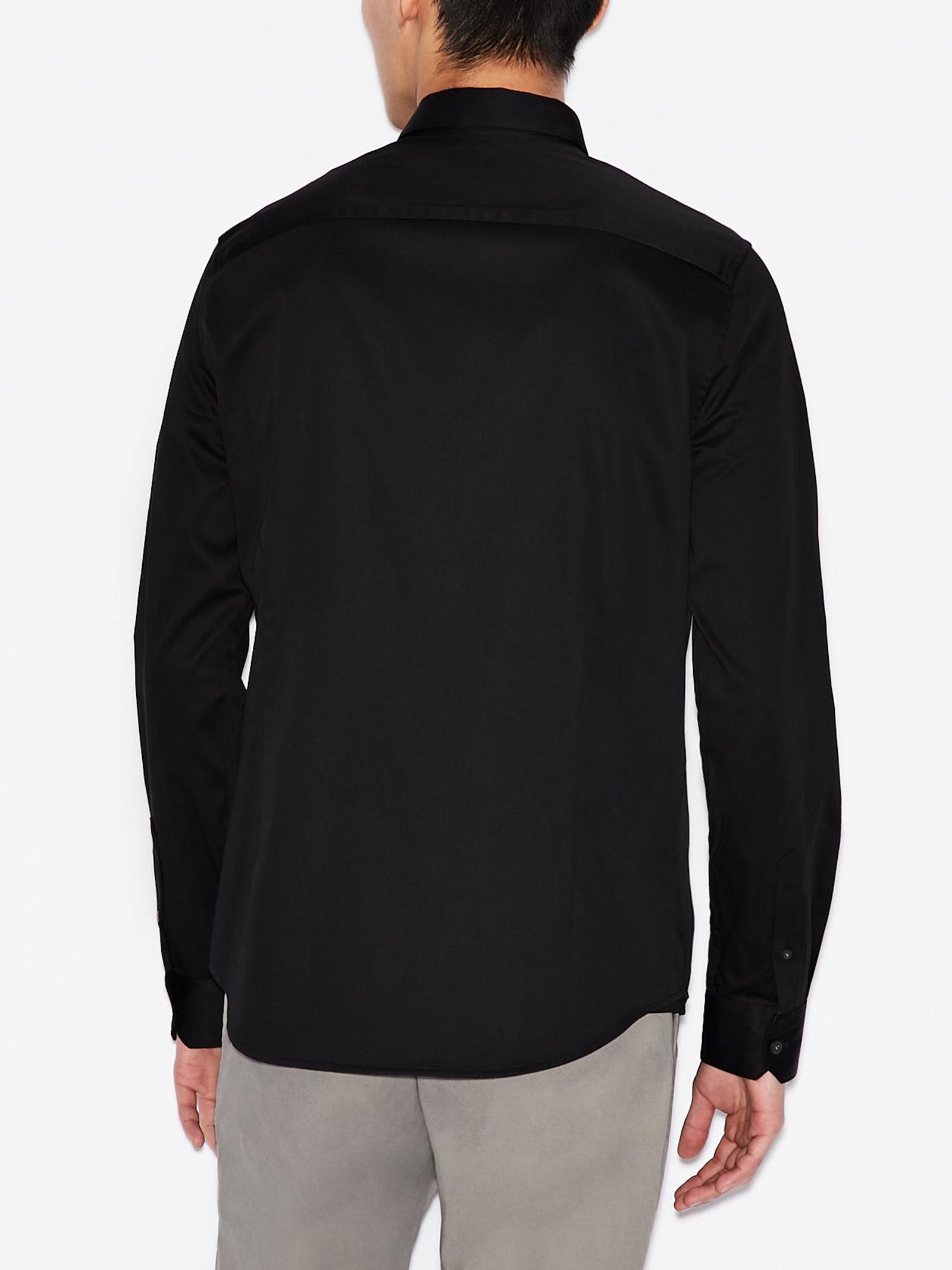 Camicia slim fit in cotone elasticizzato ARMANI EXCHANGE   Camicia   8NZCBD/ZN10Z1200