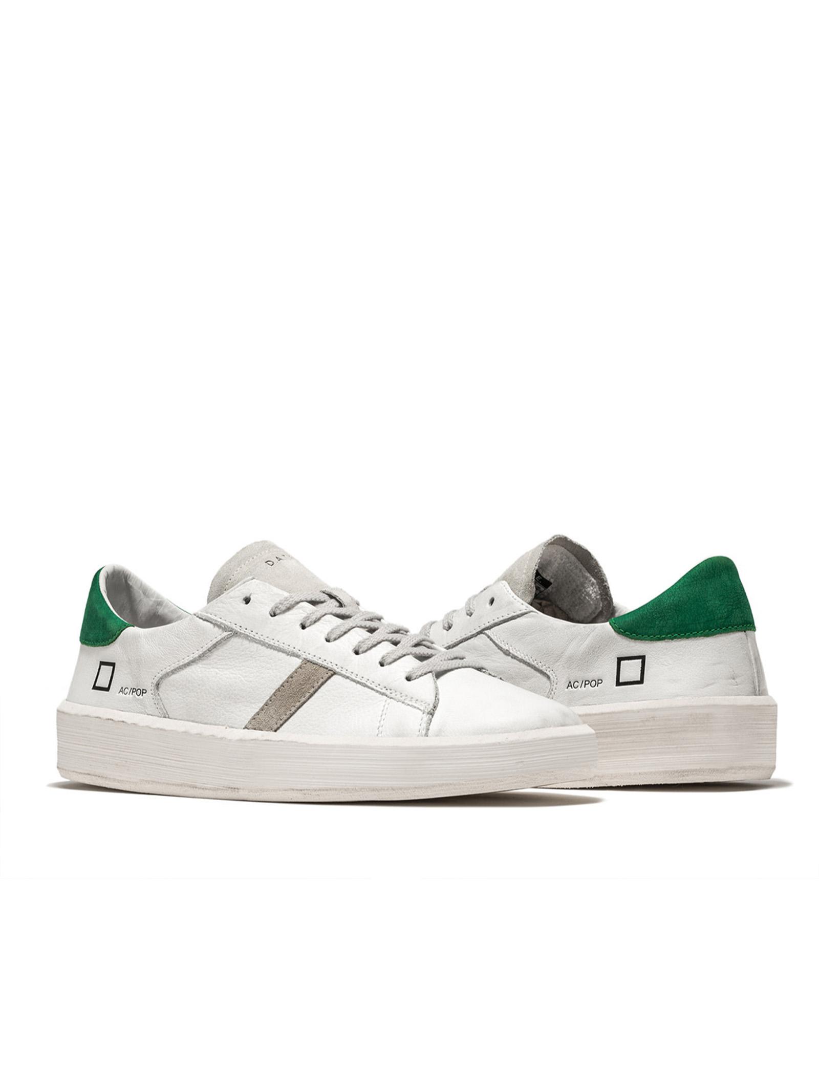 ACE POP WHITE-GREEN D.A.T.E. | Scarpe | M341-AC-POWG