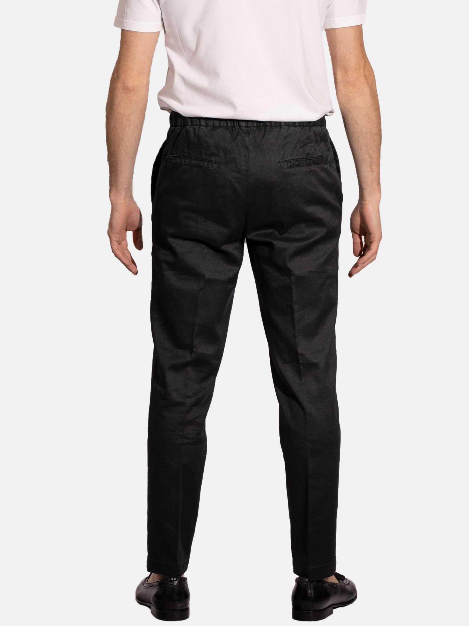 pantalone con lacci in lino e cotone DEVORE | Pantalone | DVR14-G049394
