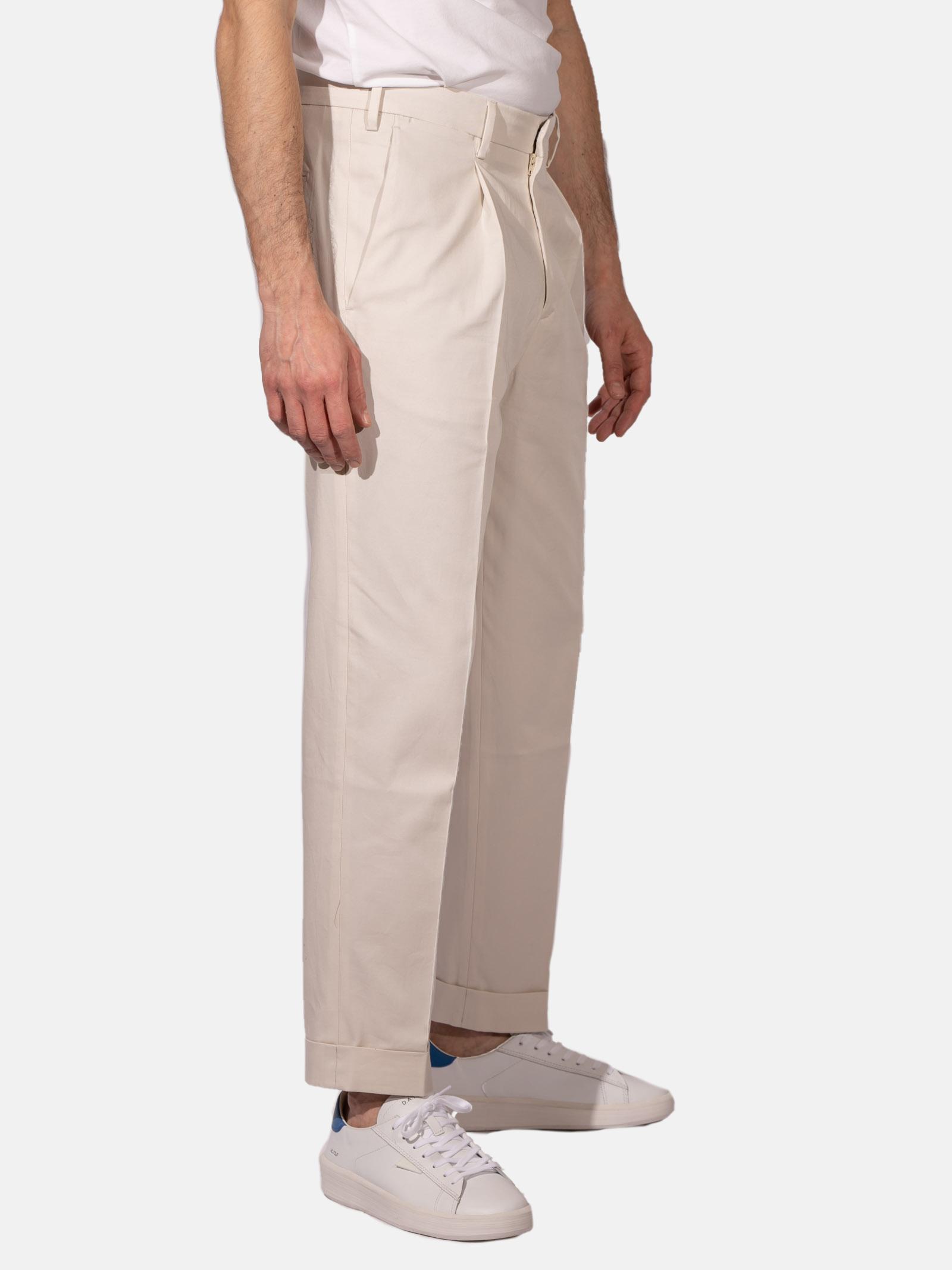 pantalone con pinces DEVORE | Pantalone | DVR24-G10040114