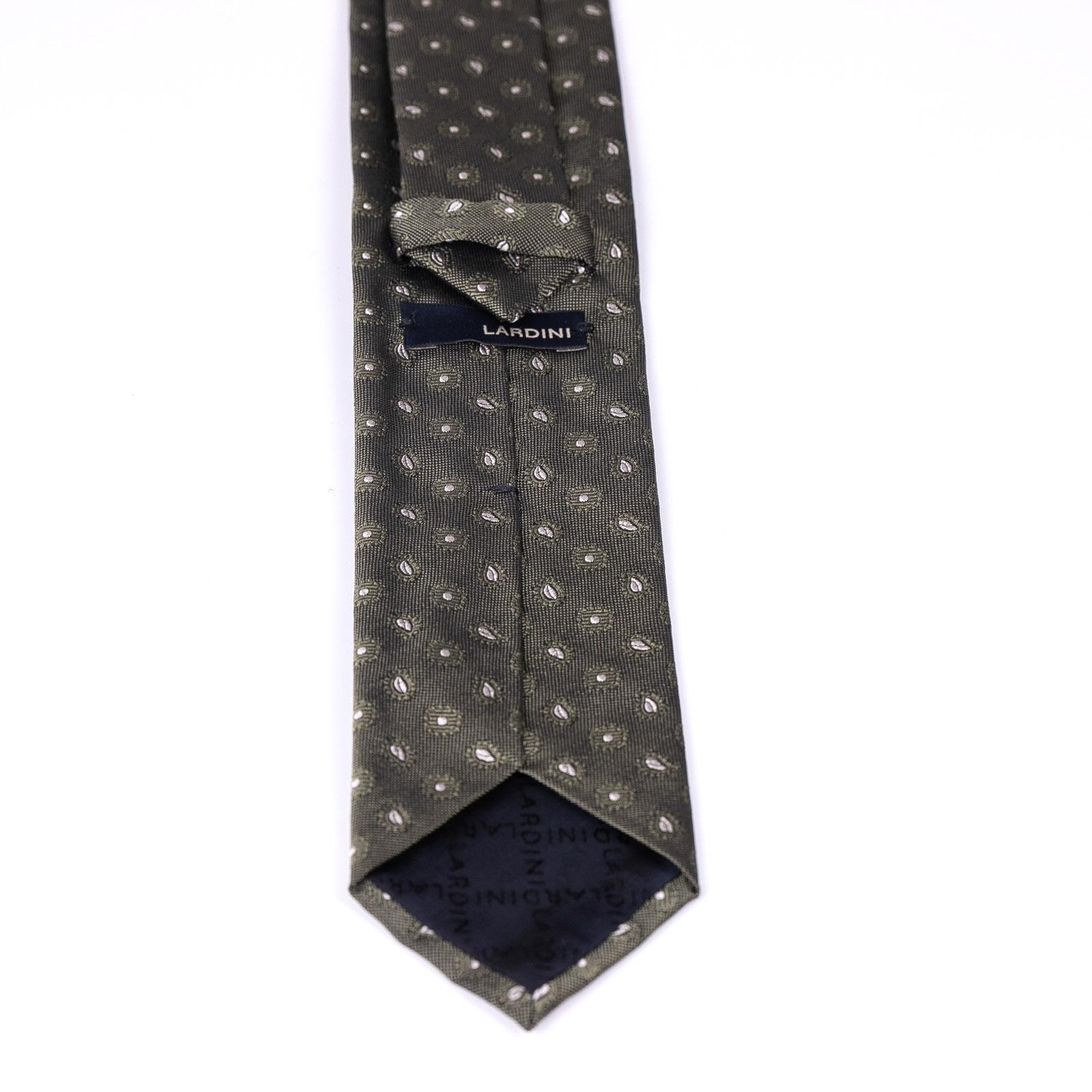 Cravatta con micro cachemire LARDINI | Cravatta | ELCRC7/EL56147500