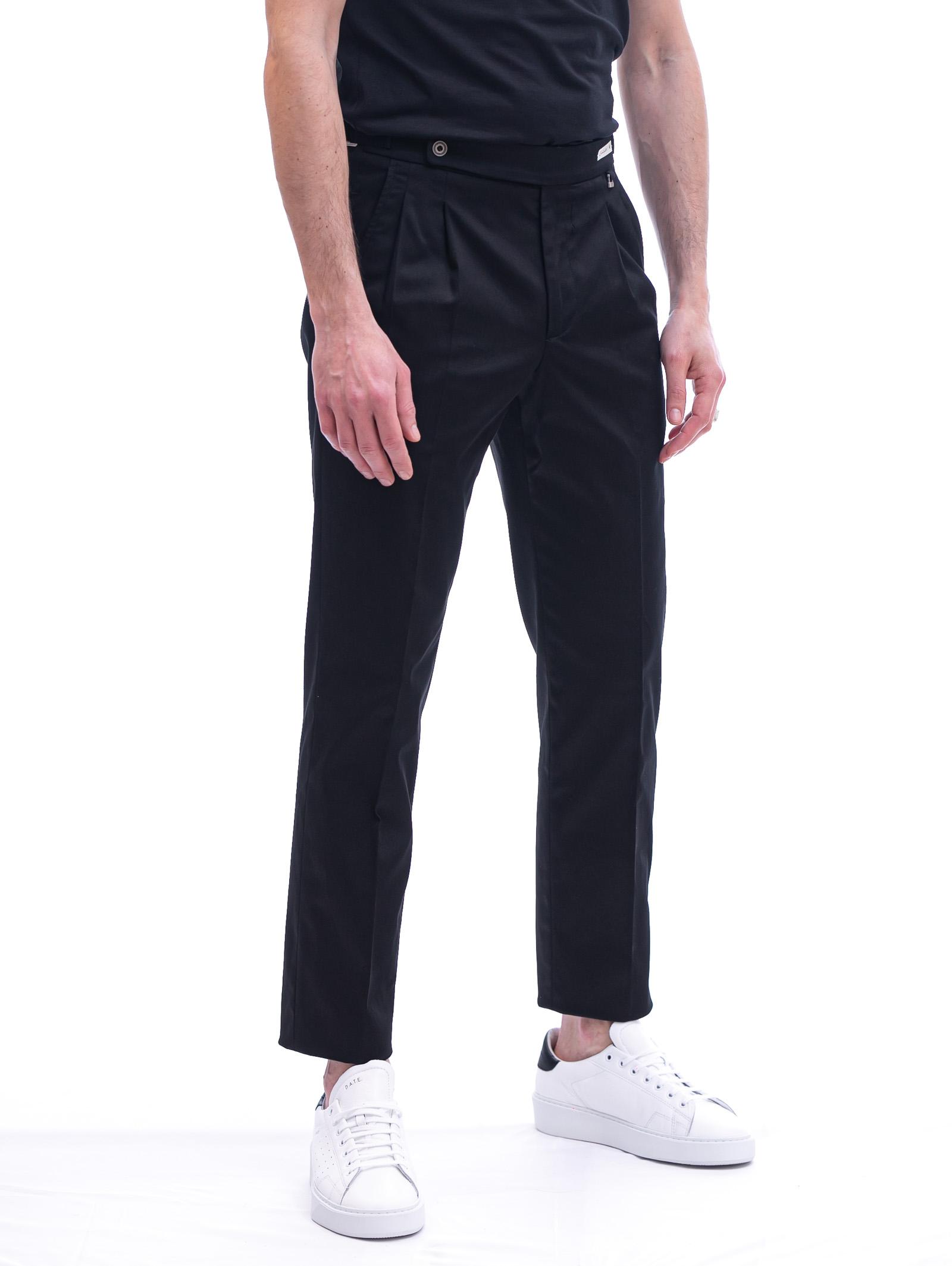 Pantalone con pinces e cinturino PAOLONI   Pantalone   P108-21000299