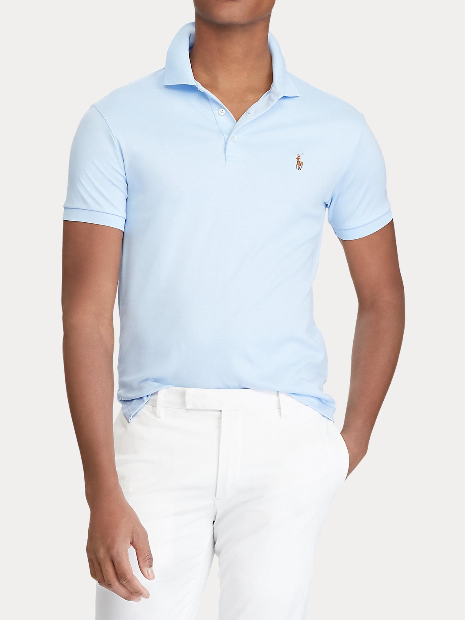 Polo in cotone morbido Slim-Fit RALPH LAUREN | Polo | 710-652578129