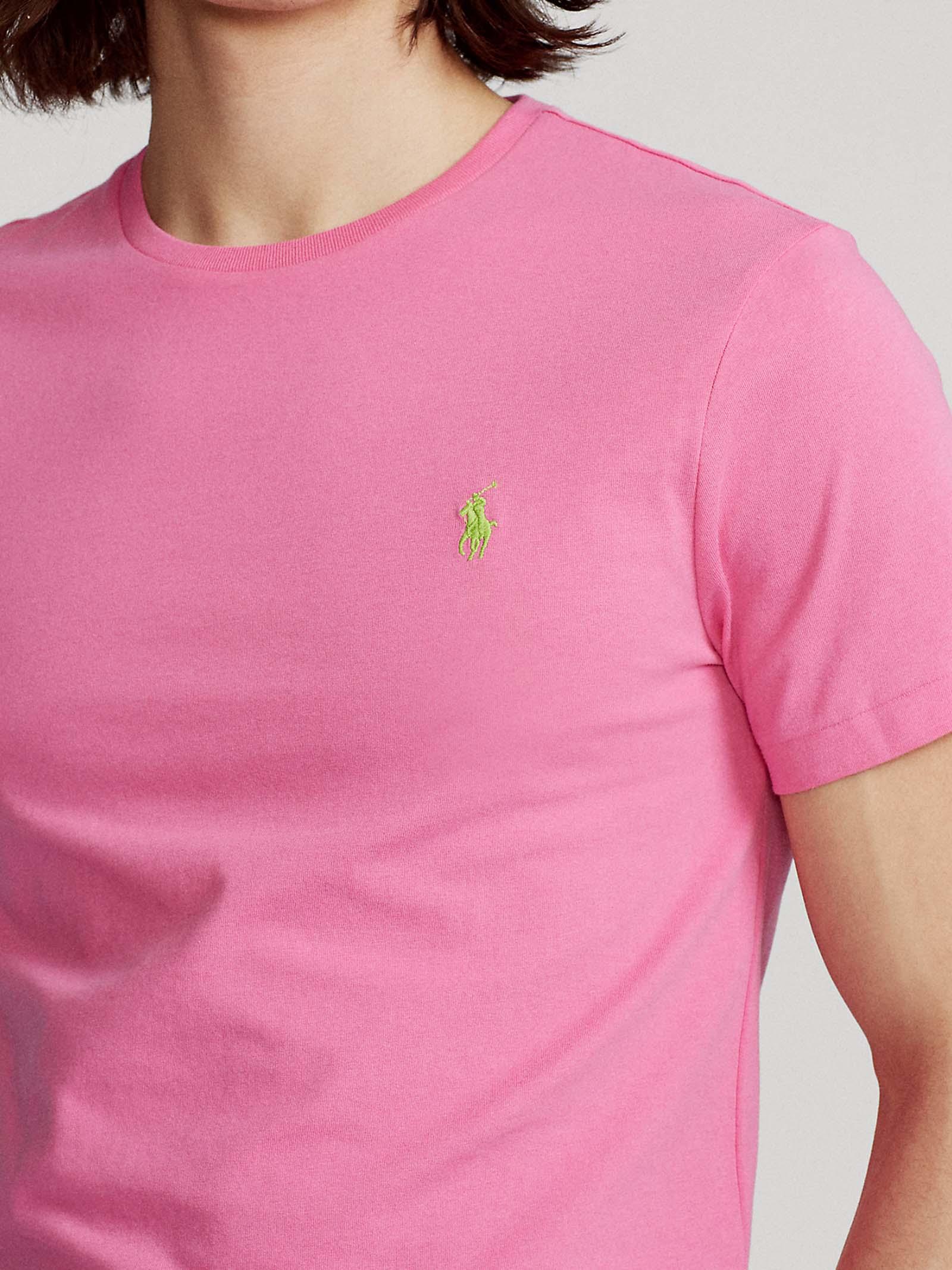 T-shirt girocollo custom slim fit RALPH LAUREN   T-shirt   710-671438219