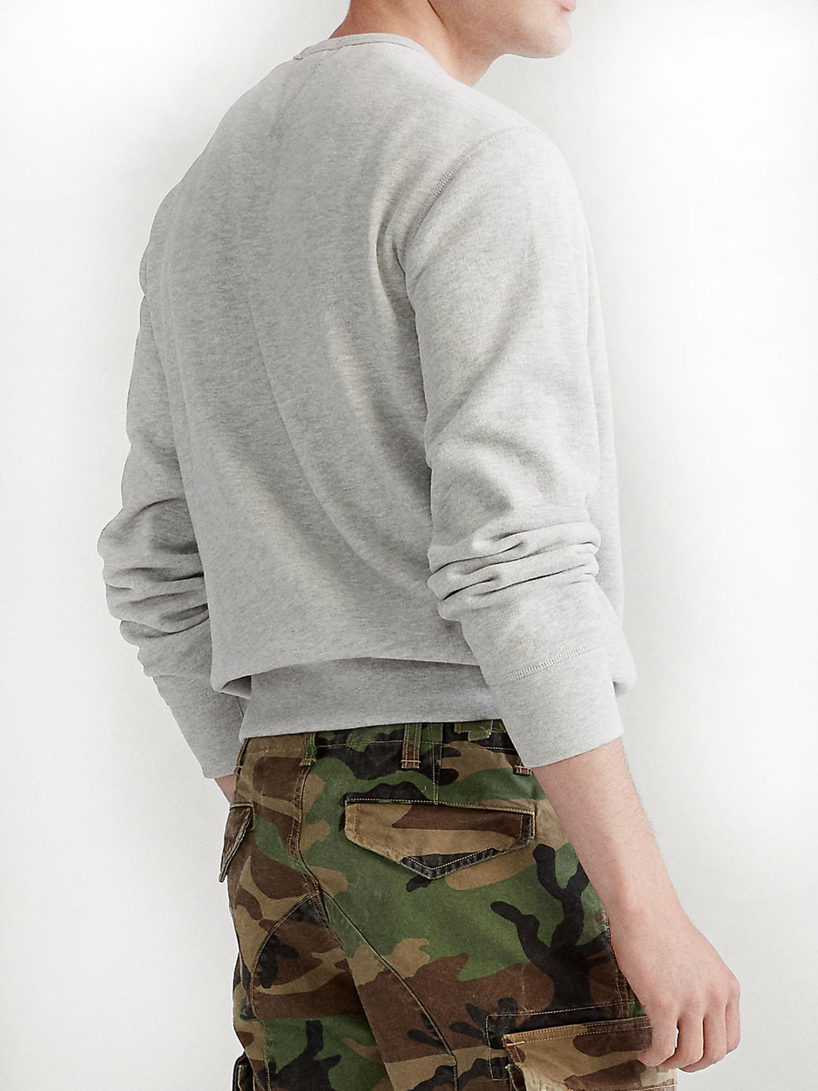 Felpa a maglia doppia RALPH LAUREN | Felpa | 710-675313020