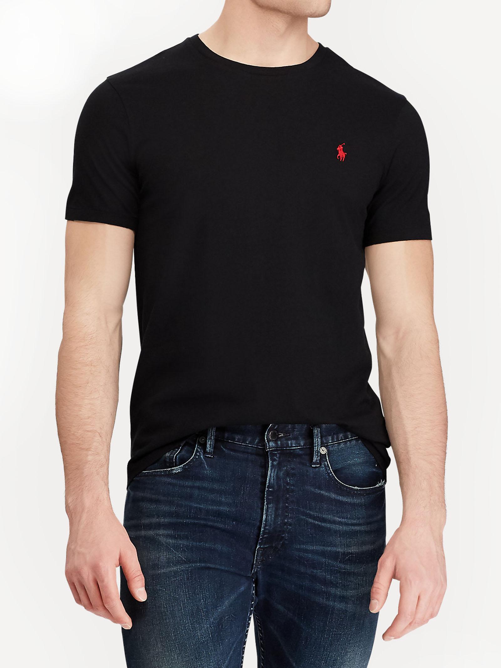 T-shirt girocollo slim fit RALPH LAUREN | T-shirt | 710-680785001