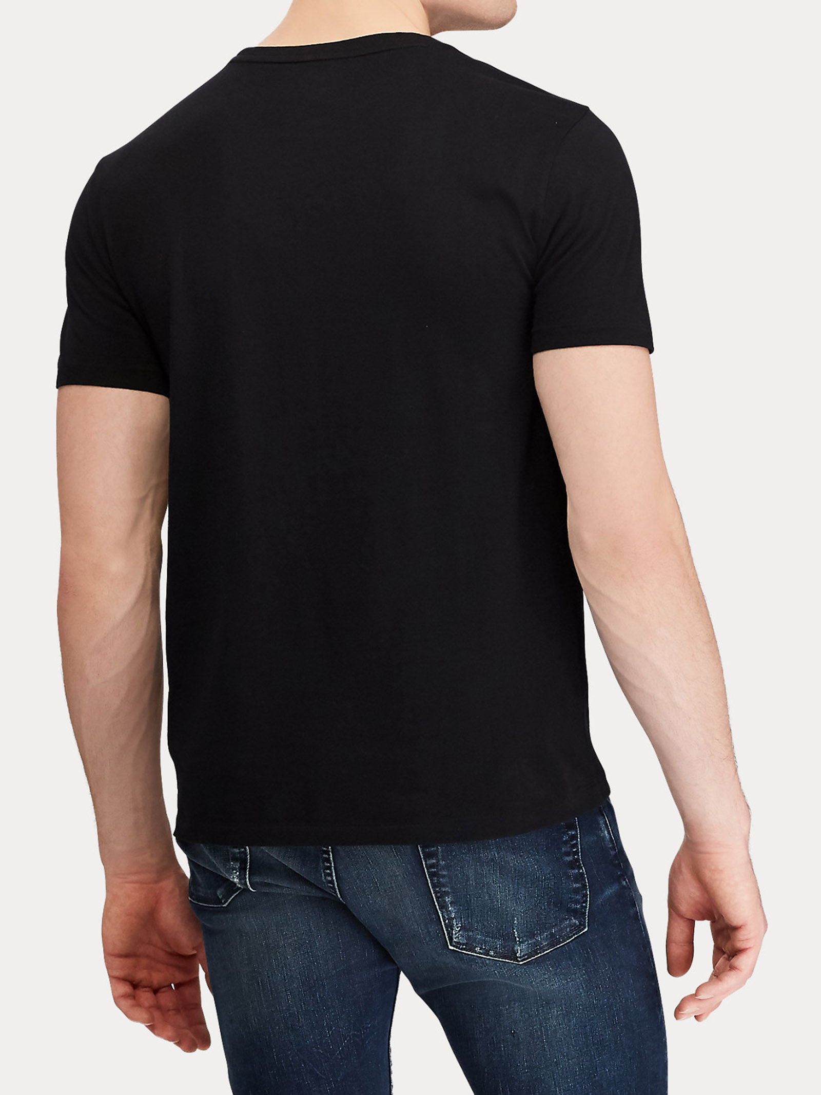 T-shirt girocollo slim fit RALPH LAUREN | T-shirt | 710-680785001