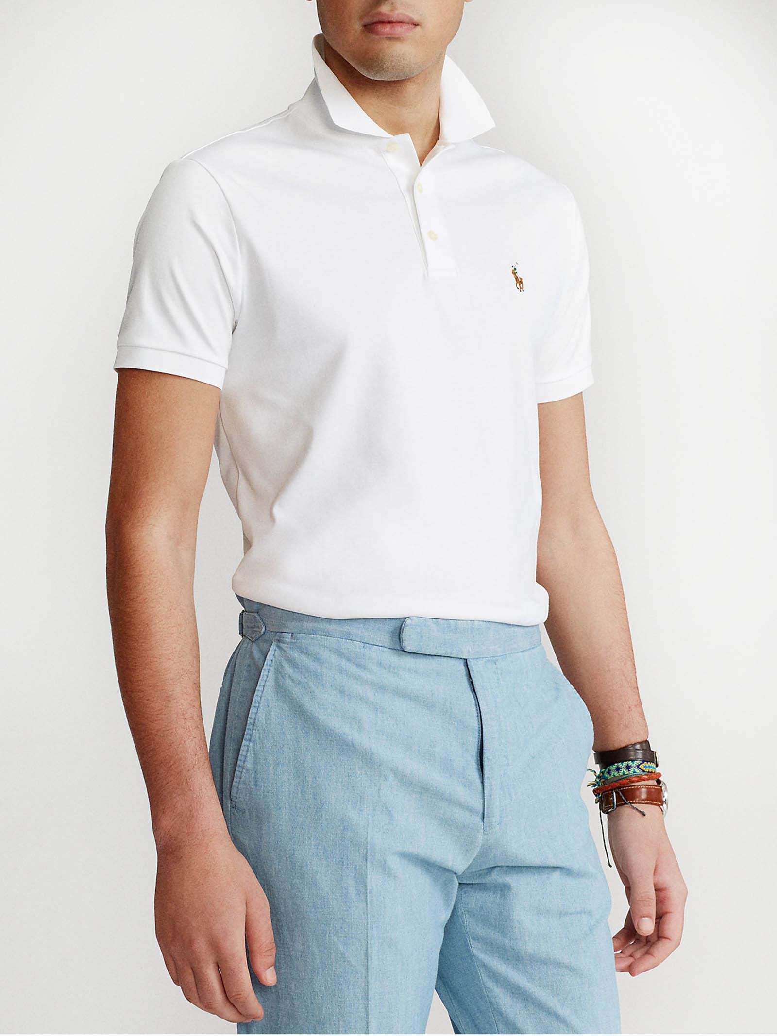 Polo in cotone morbido Slim-Fit RALPH LAUREN   Polo   710-685514001