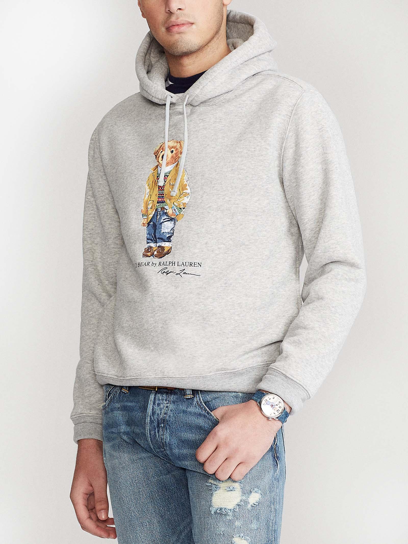 Felpa Polo Bear con cappuccio RALPH LAUREN | Felpa | 710-829166002