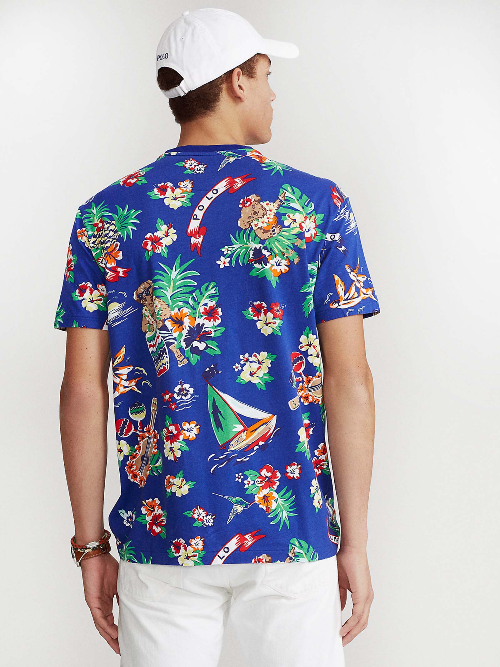 T-shirt Polo Bear Custom Slim-Fit RALPH LAUREN | T-shirt | 710-829182001