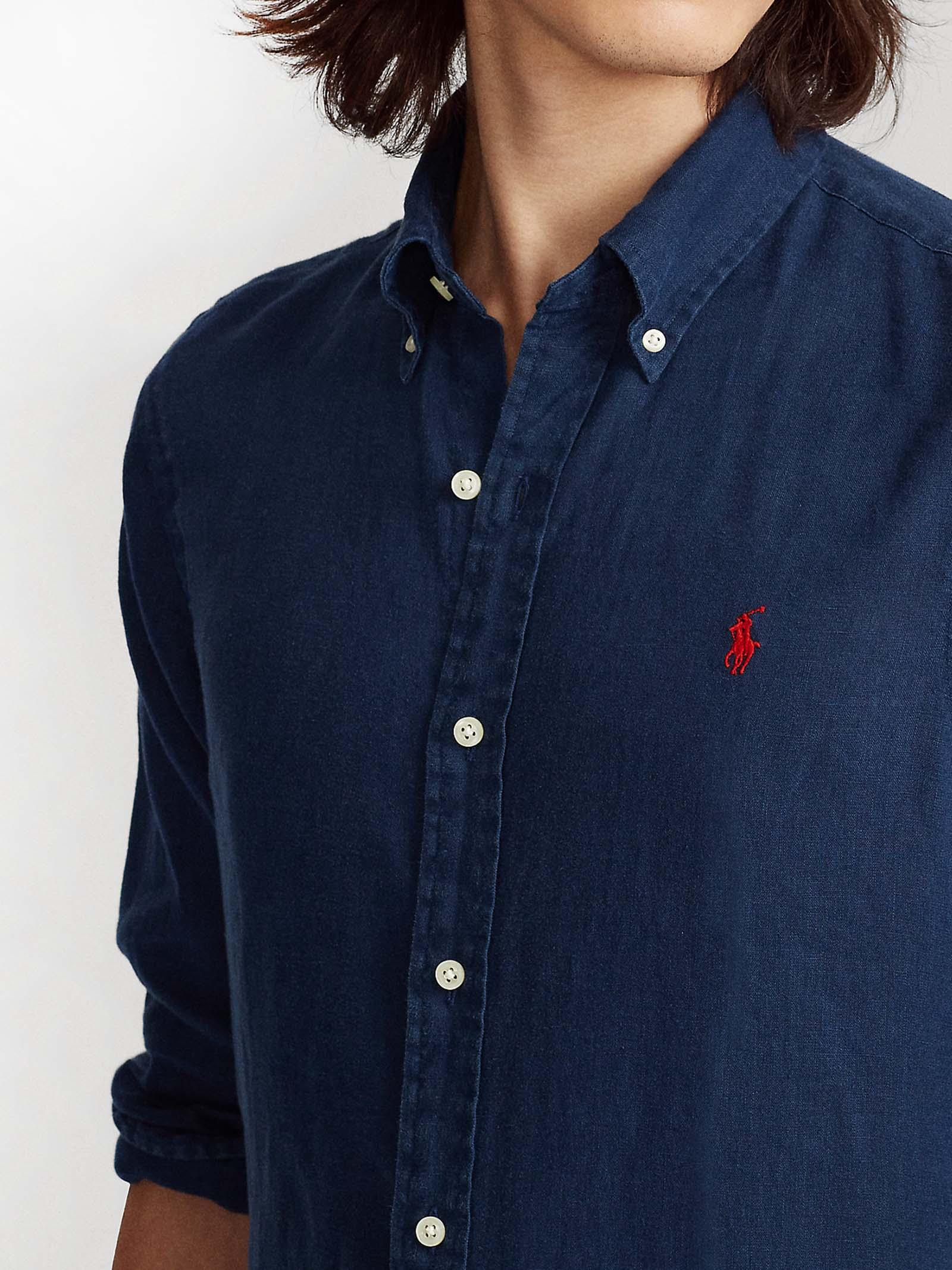 Camicia in lino RALPH LAUREN   Camicia   710-829443001