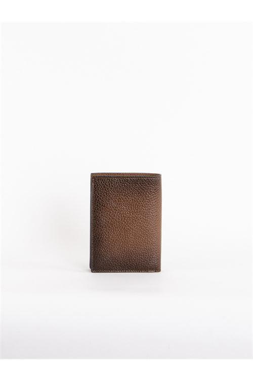 Portafoflio verticale in pelle ORCIANI | Portafogli | SU0045SIGARO