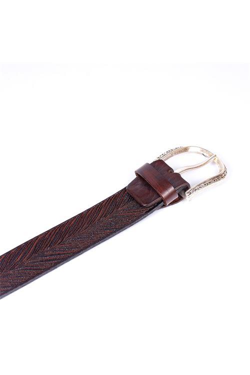 Cintura in pelle alberto luti ALBERTO LUTI | Cintura | 646-35TN
