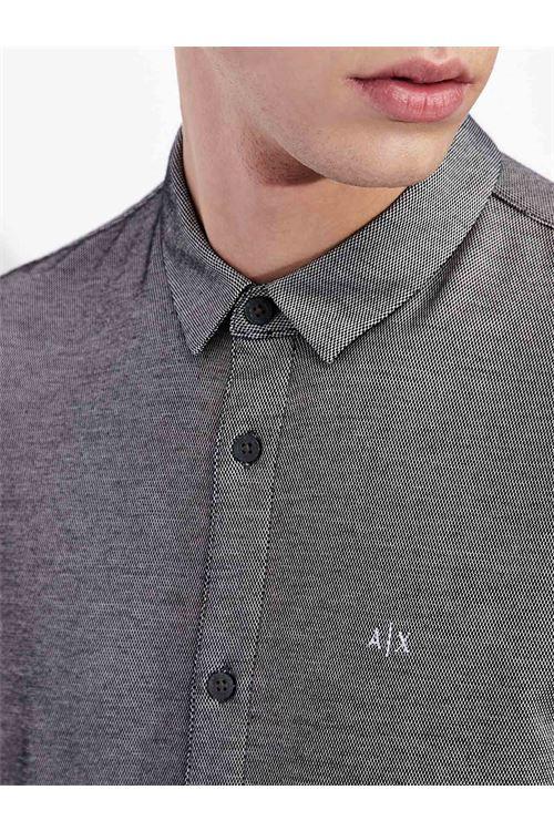 Camicia lavorazione jacquard ARMANI EXCHANGE | Polo | 6HZCFK/ZJ2SZ2124