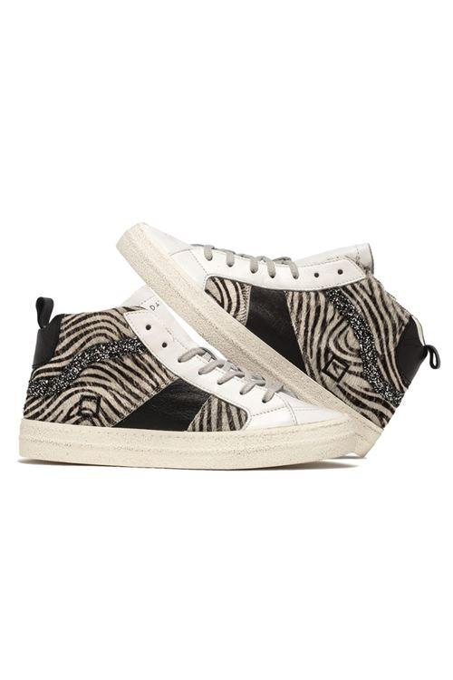 Sneaker modello HAWK D.A.T.E. D.A.T.E.   Scarpe   W331-HAWK PONYZEBRA