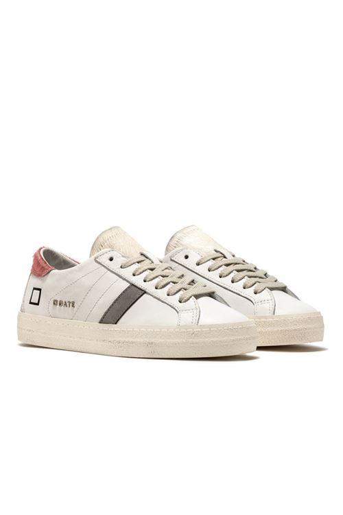 Sneaker modello HILL LOW D.A.T.E. D.A.T.E. | Scarpe | W331-HILL LOW PONYWHITE/PINK