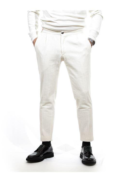 Pantalone di velluto a costa larga DEVORE DEVORE | Pantalone | LEI 119106